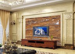 瓷砖背景墙风格选材 让你置身幻彩家居
