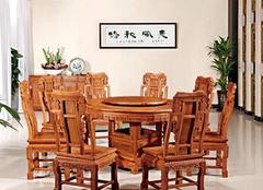 选购红木餐桌技巧有哪些 有哪些保养方法