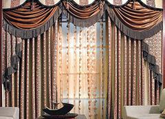 如何搭配美式乡村窗帘 家居构建舒适环境