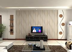 电视墙纸选择小诀窍 打造客厅更时尚