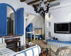 地中海风格典型的几种颜色搭配 打造异域风情