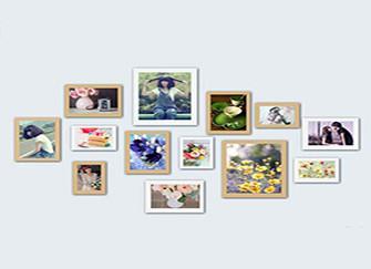 照片墙类型详解 装点家居更时尚