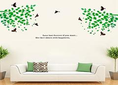 墙贴选购小诀窍 打造家居创意墙