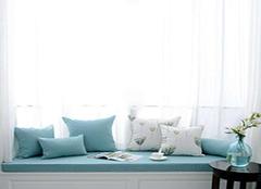 飘窗垫有哪些种类 如何美化你的飘窗