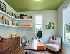 小户型书房装修技巧 小书房也能完成大作用
