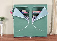 简易布衣柜哪种布料好 各有各的特点