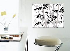无框装饰画的特点有哪些 让家居更新意