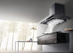 开放厨房容易受到油烟污染 如何才能遮挡油烟