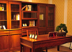 书房选择胡桃木书柜好不好 特色优点为选购带来便利