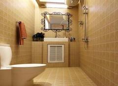 卫生间瓷砖颜色有哪些禁忌 你了解吗