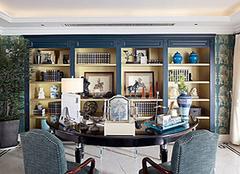书房装修地中海风格 为家居带来清新自然风采