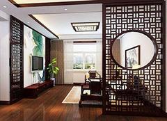 为家居安装中式镂空隔断 让家居更显古韵格调