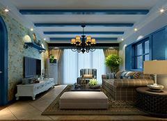 地中海客厅选择哪种吊灯好 不同选择带来不同装饰效果