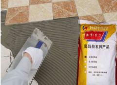 瓷砖粘合剂和水泥有什么不同 四点见分晓