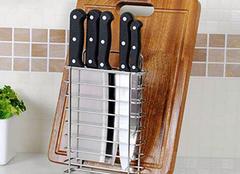 选购厨房刀架小技巧 厨房从此不凌乱