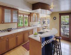 开放式厨房的设计要点 这样设计开放式厨房顾虑全无