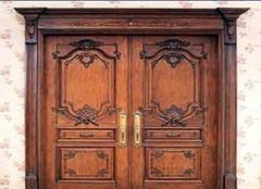 实木雕花门的一些选购窍门 你都get到了吗