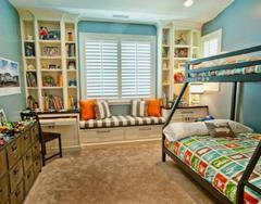 小户型儿童房装修 两孩一样住得开的儿童房