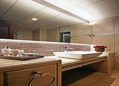 没有窗的卫生间变亮的妙计有哪些 给你清透明亮的卫生间