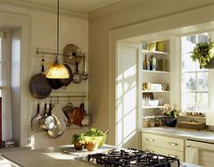 家庭厨房布局图 小户型开放式厨房布局参考