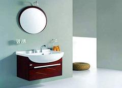 擦亮眼睛辨别浴室柜的质量优劣 打造高品质卫浴空间