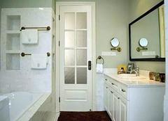 卫生间常见三种门优劣对比 看完就知道怎么选