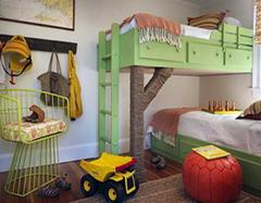 儿童房设计有哪些标准 不看会毁孩子终生
