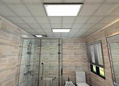 安装卫生间吊顶扣板方法步骤 干净卫生没烦恼