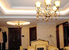 华丽风客厅吊灯盘点 让客厅更显奢华