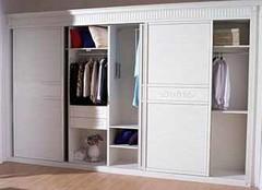 衣柜移门选购有四招 让家居更逼格