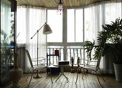 封阳台小诀窍 轻松扩大客厅空间