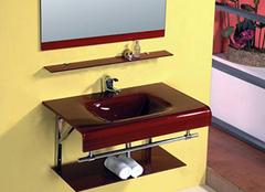 钢化玻璃浴室柜的特点及保养知识