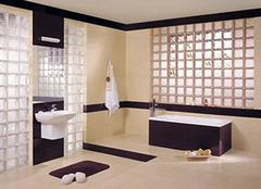 墙面装饰新亮点 玻璃砖的优点有哪些