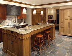 厨房少不了橱柜的身影 介绍常见的几种橱柜面板材质
