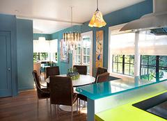 玻璃建材之烤漆玻璃简析 打造居室时尚感