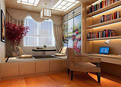 书房家具装修有哪些选择 让读书成为一件乐事