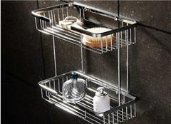 家用浴室置物架常用材质有哪些 哪种好呢