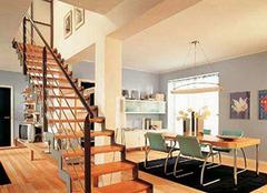 楼梯选材之木质解析 打造家居清新感