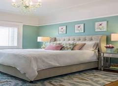小清新卧室刷什么颜色的涂料好看 每天在自然清新中醒来
