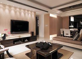电视背景墙怎么设计合理 玩转客厅空间