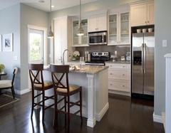 选择开放式厨房吧台的理由有什么 时尚与生活就在厨房