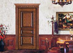 家中安装原木门有哪些优点 为你带来高质量家居