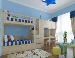儿童房五彩斑斓 设计儿童房还要考虑实际实用