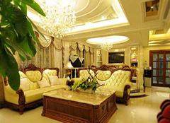关于选购欧式客厅灯具的经验分析 还你古典浪漫的客厅