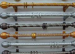 多种材质窗帘杆如何选择 为家居带来不同装饰