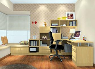 书房内不可缺少的家具有哪些 你家全了吗