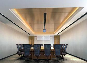 适用的办公室天花板材料有哪些 你的办公室用了吗