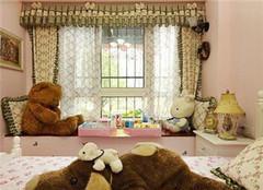 儿童房飘窗窗帘怎么选择好 各有什么特点呢