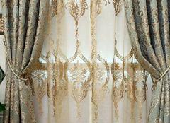 欧式豪华窗帘挑选细节 家居更显奢华