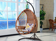 如何为家居选购藤编吊椅 为我们带来舒适享受